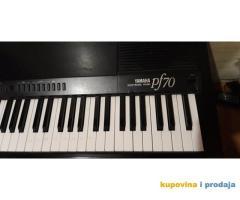 YAMAHA  PF70 electronic piano