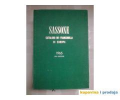SASSONE - CATALOGO DEI FRANCOBOLLI DI EUROPA - 1965 - XXIII edizione