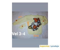Izrada dečijih džempera