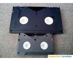 Prebacivanje S-VHS, miniDV, Video8, HI8, Digital 8 Betacam SP na DVD