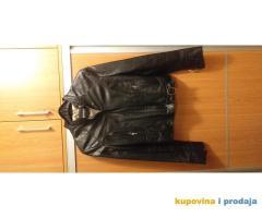 Prodajem crnu koznu jaknu - izuzetno ocuvana, kao nova!