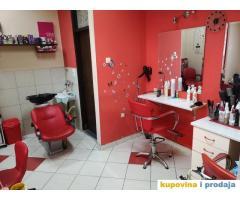 izdajem kompletno opremljen salon -frizer-masaza-pedikir-manikir