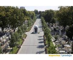 Grobno mesto na Novom groblju