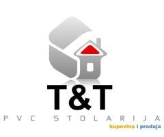 Prodaja PVC i AL-u stolarije